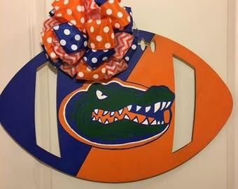 Football Florida Gators door hanger