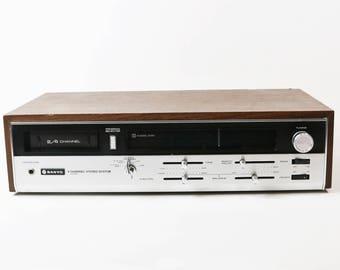 Vtg Sanyo DXL 5485 8-Track Player 2- 4-Channel Stereo Quadraphonic - For Repair