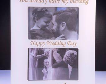 Wedding Blessing Photo Frame