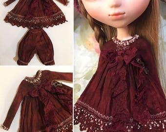 OOAK Dress set for Blythe or Pullip