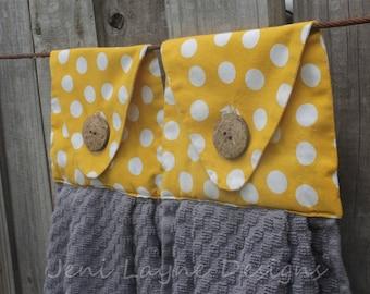Hanging Kitchen Towel- set of 2   Kitchen Towels, Hanging Towels, Kitchen Linens