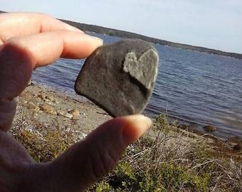 Heart Beach Stone