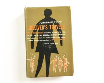 Johnathon Swift - Gulliver's Travels and Other Writings, collectible books, 1958