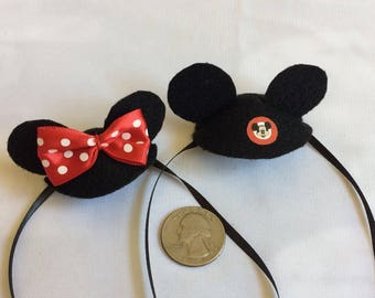 Disney Inspired Mouse Ears for your Bearded Dragon! Two styles, one size fits most.