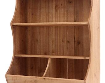 46x20cm H.50cm wooden shelf