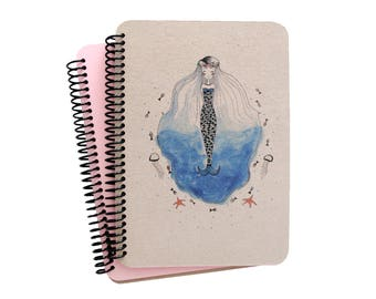 Mermaid Series Spiral Notebook 1