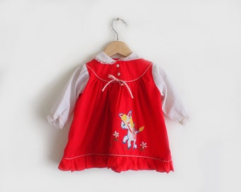 Catton Candy baby dress