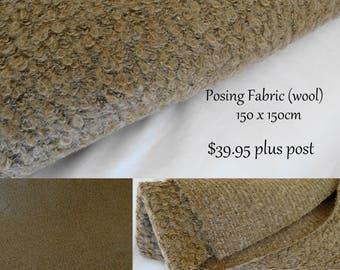 Wool Blend Posing Fabric