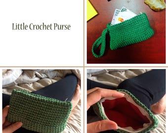 Little Crochet Purse