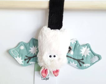 """Bat plush mouse lucky """"stars of the sailor"""" - unique and original blanket"""