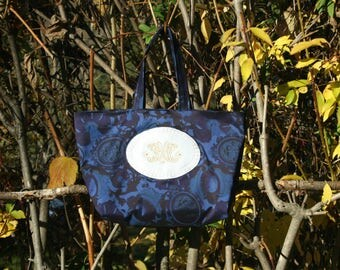 handbag - night - blue.