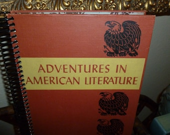 Fun Recycled / Upcycled Blank Journal Adventures In American Literature