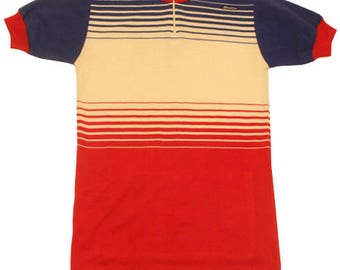70's vintage SANTINI cycle jersey made in Italy