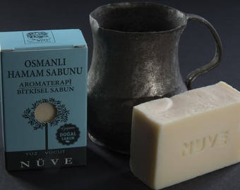 Nuve Ottoman Bath Soap - Handmade Aromatherapy Herbal Collection - All Natural With Olive Oil (110 gr. / 4 oz.)