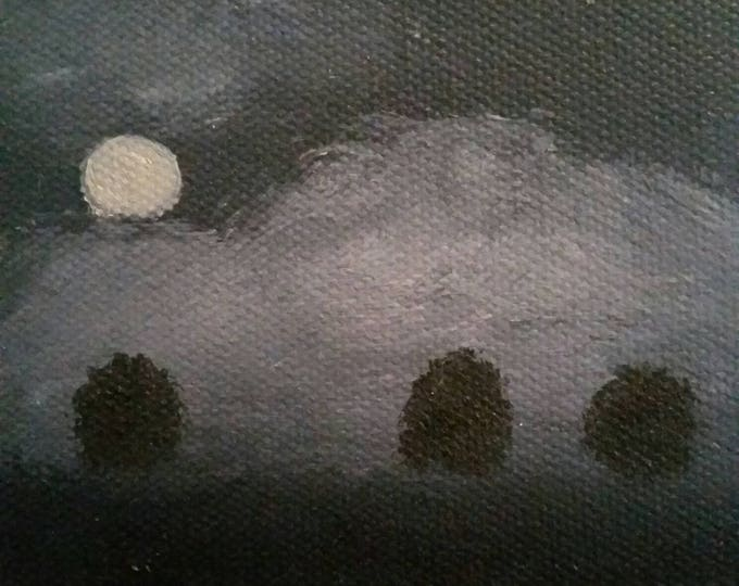 Nocturne - Oil Painting