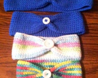 Hand-crocheted Headband