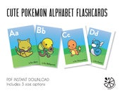 Cute Pokemon Alphabet Fla...