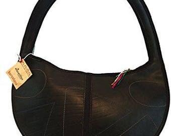 Recycled Rubber Handbag Semilla