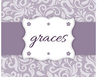 GRACES + HOPE Handmade, Personalized Planner/Agenda/Journal/Notebook, Custom Dates, Inspirational/Christian Devotional