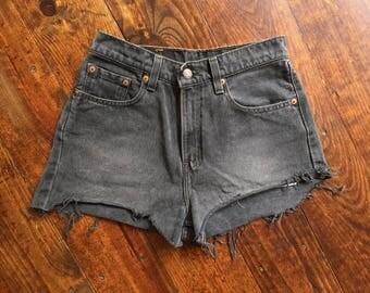 Vintage Levi's Homemade Cut-Off Highwaisted Shorts