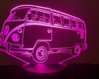 Lamp 3D pattern: T1 VW combi