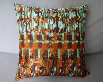 Cushion cover 40 X 40 ethnic spirit wax