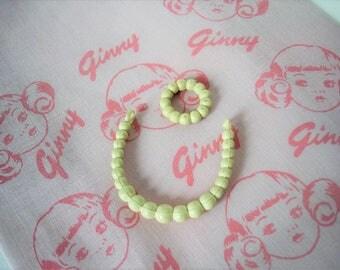 Vintage Vogue Ginny Necklace and Bracelet Set