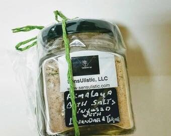 Infused Himalaya Bath Salts