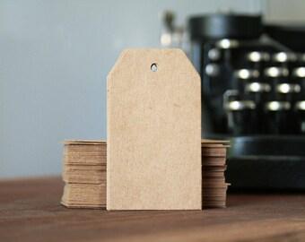 American tags tags size Kraft medium 4 cm * 7 cm