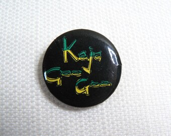 Vintage 80s Kajagoogoo Pin / Button / Badge