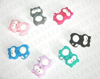 Silicone bead mickey (small size)