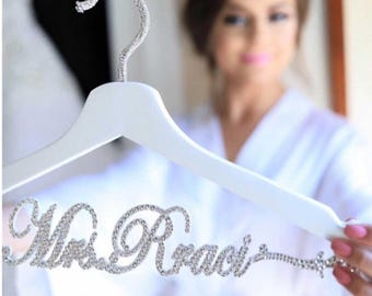 wedding hanger personalized,laser cut hanger,Mrs hanger,Personalized Hanger,Custom hanger,wedding hanger,wedding dress hanger