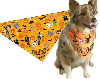 Halloween Dog Bandana - Medium to Large Dogs - 46003-LG