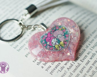 My Sweet Melody Heart Keychain