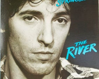 Bruce Springsteen The River 1980 Columbia Records Original Vintage Vinyl Record LP