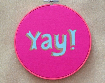 YAY! Embroidery