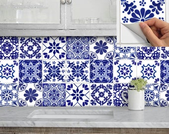 Tile Stickers Vinyl Decal Waterproof Removable For Kitchen Bath Wall Floor Or Stair Tr007 Chinablue