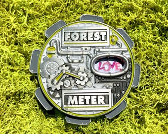 Forest Meter Hat Pin Electric Forest 2017