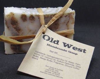 Old West Handmade Cold Process Soap