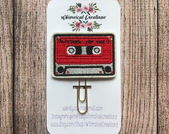 Mix Tape Planner Clip