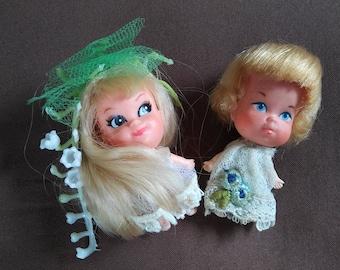 1967 Vintage Mattel Little Kiddles Dolls