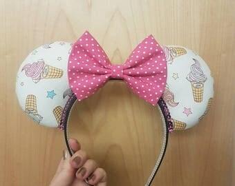SALE Ice Cream mouse ears