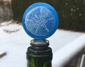 Fused Glass Bottle Stopper / *Reserved for Lauren*