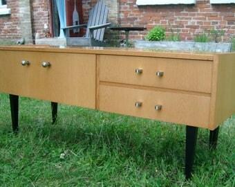 Lowboard, sideboard, dressing table, 60s-2room