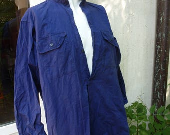 great father's Blue work shirt