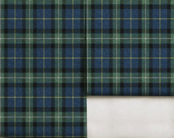 Black Tartan Easy to Apply Removable Peel 'n Stick Wallpaper
