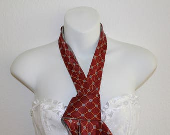 Tie TWO in ONE red