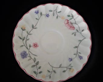 Summer Chintz - Johnson Brothers - saucer - made in England