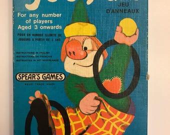 Joey Ring Game Clown Ring Toss Game 1975