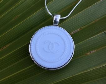 Beautiful Repurposed Button Necklace